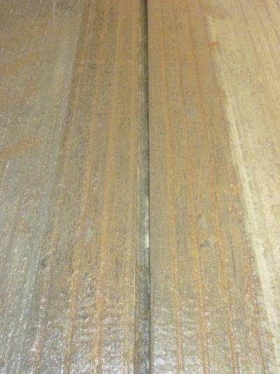 Découpe béton pour racleur automatique - AgriRainurage - P1020391